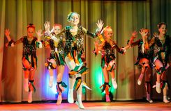 Χορός των παιδιών Στοκ Φωτογραφία