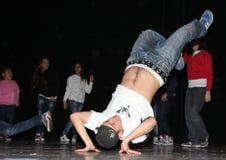 Χορός χιπ χοπ Στοκ Φωτογραφίες