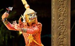 Χορός Apsara Στοκ εικόνα με δικαίωμα ελεύθερης χρήσης
