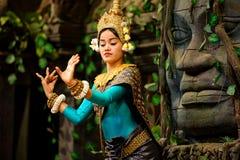Χορός Apsara Στοκ Φωτογραφίες