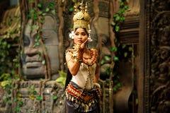 Χορός Apsara Στοκ φωτογραφίες με δικαίωμα ελεύθερης χρήσης