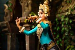 Χορός Apsara Στοκ φωτογραφία με δικαίωμα ελεύθερης χρήσης
