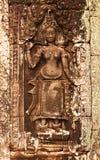 Χορός Apsara, Angkor Wat, Καμπότζη Στοκ Εικόνα