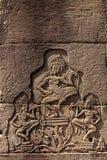 Χορός Apsaras στο ναό Bayon Στοκ εικόνες με δικαίωμα ελεύθερης χρήσης