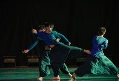 Χορός bushido-πανεπιστημιουπόλεων Στοκ Φωτογραφίες