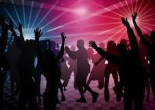 Χορός Disco Στοκ Φωτογραφίες