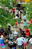 Χορός EVANSTON, ΙΛΛΙΝΌΙΣ Ιουλίου 2012 Let Στοκ φωτογραφία με δικαίωμα ελεύθερης χρήσης