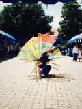 Χορός Ginggala Tai χορός Στοκ φωτογραφία με δικαίωμα ελεύθερης χρήσης