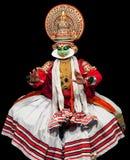 Χορός Kathakali στο Κεράλα, νότια Ινδία στοκ φωτογραφία