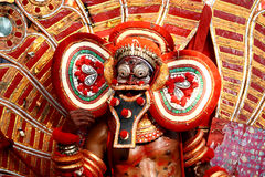 χορός theyyam Στοκ εικόνα με δικαίωμα ελεύθερης χρήσης
