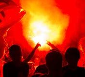 χούλιγκαν πυρκαγιάς Στοκ φωτογραφία με δικαίωμα ελεύθερης χρήσης