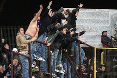 Χούλιγκαν ποδοσφαίρου Στοκ φωτογραφία με δικαίωμα ελεύθερης χρήσης