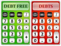 Χρέη ελεύθερη απεικόνιση δικαιώματος