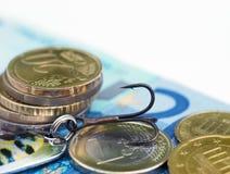 χρέος έννοιας ευρωπαϊκά στοκ εικόνα
