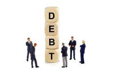 Χρέος στοκ φωτογραφίες με δικαίωμα ελεύθερης χρήσης