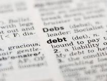 χρέος Στοκ Εικόνα