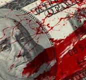 Χρήματα αίματος στοκ φωτογραφία με δικαίωμα ελεύθερης χρήσης