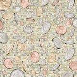 χρήματα ανασκόπησης Στοκ Εικόνα