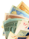 χρήματα ανεμιστήρων Στοκ Φωτογραφίες