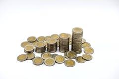 Χρήματα αποταμίευσης, αυξανόμενη επιχείρηση στοκ φωτογραφίες με δικαίωμα ελεύθερης χρήσης