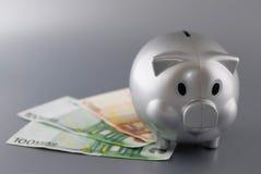 Χρήματα αποταμίευσης Στοκ Εικόνα