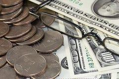 Χρήματα αποχώρησης Στοκ Εικόνες