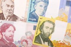 Χρήματα από το Βέλγιο, ένα υπόβαθρο στοκ εικόνες με δικαίωμα ελεύθερης χρήσης