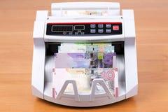 Χρήματα από το Κουβέιτ σε μια μετρώντας μηχανή