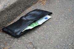 χρήματα απώλειας πτώχευσης ανασκόπησης Στοκ Φωτογραφίες