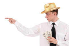 χρήματα ατόμων Στοκ Φωτογραφία