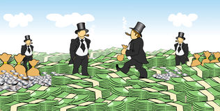 χρήματα ατόμων ελεύθερη απεικόνιση δικαιώματος