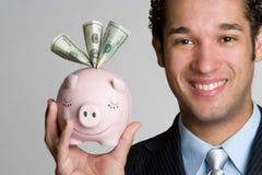 χρήματα ατόμων Στοκ Εικόνες