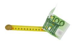 χρήματα αυξήσεων Στοκ φωτογραφία με δικαίωμα ελεύθερης χρήσης