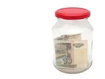 χρήματα βάζων Στοκ Εικόνα