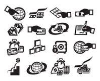 Χρήματα. Διανυσματική απεικόνιση Στοκ Φωτογραφίες