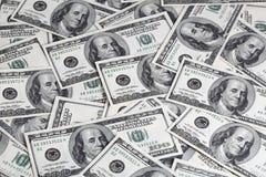 χρήματα δολαρίων Στοκ φωτογραφίες με δικαίωμα ελεύθερης χρήσης