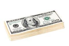 χρήματα δολαρίων Στοκ Φωτογραφίες