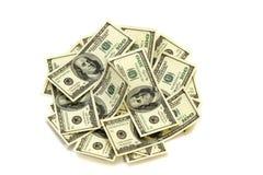 χρήματα δολαρίων Στοκ Εικόνα