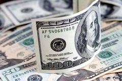 χρήματα δολαρίων Στοκ εικόνα με δικαίωμα ελεύθερης χρήσης