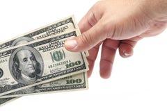 χρήματα δώρων στοκ εικόνες