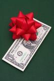 χρήματα δώρων Στοκ εικόνα με δικαίωμα ελεύθερης χρήσης
