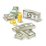 Χρήματα εγγράφου, σύνολο Απεικόνιση αποθεμάτων