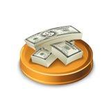 Χρήματα εγγράφου, σύνολο Διανυσματική απεικόνιση