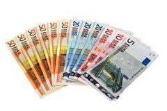 Χρήματα εγγράφου Στοκ Φωτογραφίες