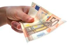 χρήματα εκμετάλλευσης Στοκ φωτογραφία με δικαίωμα ελεύθερης χρήσης