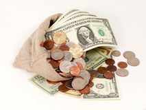 χρήματα εμείς Στοκ Εικόνες