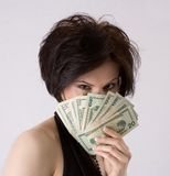χρήματα εμφανίζω Στοκ Εικόνες