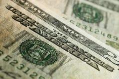 χρήματα ΗΠΑ Στοκ Φωτογραφίες