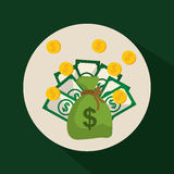 Χρήματα και επένδυση Στοκ Φωτογραφία
