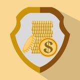 Χρήματα και επένδυση Στοκ εικόνα με δικαίωμα ελεύθερης χρήσης